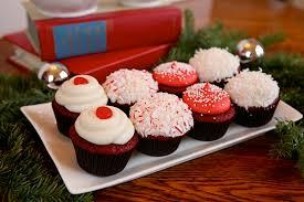 velvet christmas velvet christmas cupcakes with festive toppings