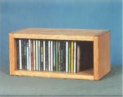 wood cd dvd cabinet oak desktop or shelf cd cabinet