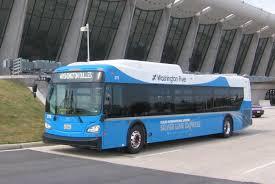 Washington Dca Airport Map by Silver Line Express Bus Service Begins July 26 Metropolitan