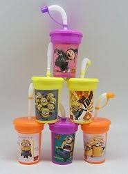 favor cups 6 mickey mouse clubhouse minnie mouse stickers birthday sipper