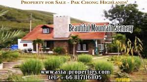 pak chong highlands country club for sale thailand youtube