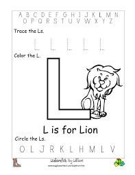 letter l coloring pages eliolera com