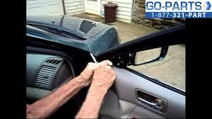 toyota side mirror replacement replace 2002 2006 toyota camry side rear view mirror how to