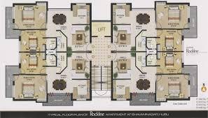 Bedroom Floor Plan Designer by Interesting Apartment Floor Plans India Bedroom Inside Inspiration