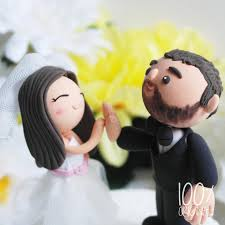 high cake topper custom wedding cake topper high five 2606632 weddbook