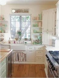 plain cottage kitchen design and decorating