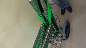 high back reclining wheelchair youtube
