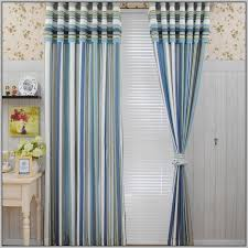 Blue And Red Striped Curtains Grey And Red Striped Curtains Curtains Home Design Ideas