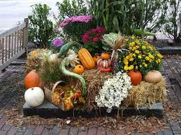 outdoor fall decorations 18 fall flower arrangements welcoming guests at your front door