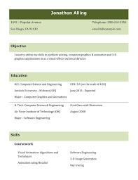 Curriculum Vitae Template Microsoft Word Free Resume Templates Word Curriculum Vitae Ms Template