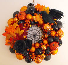 halloween ornaments to make erika makes a fabulous halloween wreath using our christmas