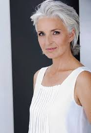 grey hairstyles for younger women gray hair can be elegant and edgy super look gray haired