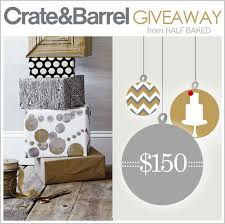 crate and barrel black friday 2017 crate and barrel giveaway