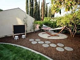 Landscaping Ideas For Backyards Backyard Diy Yard Projects On A Budget Townhouse Backyard Ideas