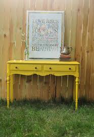 Console Table For Living Room by Yellow Console Table For Your Living Room Modern Console Tables