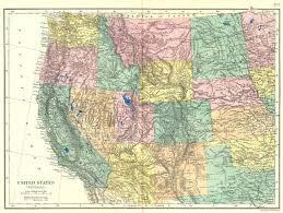 map of oregon nevada usa west california nevada oregon washington idaho wyoming etc