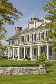 colonial house with farmers porch g p schafer architect