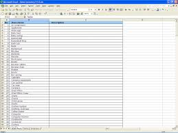 Simple Inventory Sheet Template Inventory Spreadsheet Template Free