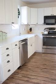 Pergo White Laminate Flooring Kitchen Progress Pergo Flooring Before And After Lauren Mcbride