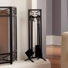 Room Design Tool Home Depot by Shelterlogic Black 5 Piece Fireplace Tool Set 90390 The Home Depot