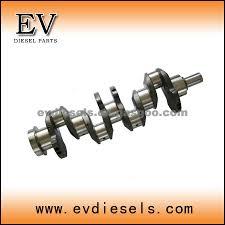 isuzu diesel engine parts 4be1 4bd1 crankshaft oem number isuzu