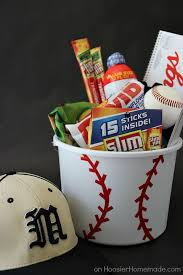 baseball gift basket 10 diy s day gift baskets ideas for gift baskets
