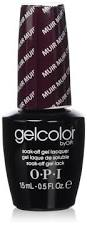 amazon com opi gel nail color muir muir on the wall 5 ounce