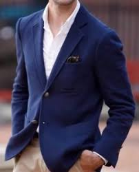 casual blazer brothers cotton unstructured casual blazer jacket navy blue
