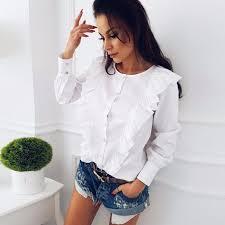 button blouses button blouses on amazon popsugar fashion