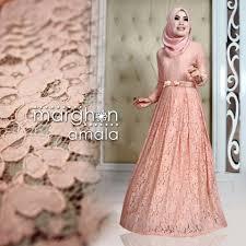 Baju Muslim Brokat tren busana muslim wanita terbaru nibinebu