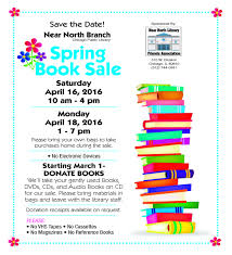 april 16 18 spring book sale at near north library chicago u0027s