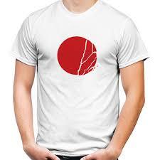 desain baju jepang jual kaos flag of japan bendera jepang print kaos pria