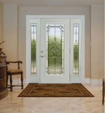 entrance glass door iron in glass full view glass door with fancy glass entrance