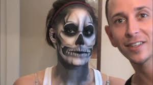 halloween makeup tutorial skeleton lady gaga born this way skeleton tattoo official makeup tutorial