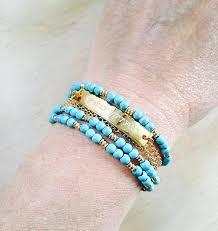 Customized Name Bracelets Name Monogram Initials Mywhys