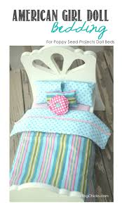 Poppy Bedding Doll Bedding For Poppy Seed Projects Beds The Crafting