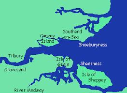 thames river map europe tilbury river thames
