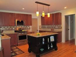 dark cabinets with white island awesome minimalist kitchen of dark