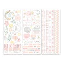 wedding scrapbook stickers baby girl scrapbook stickers creative memories cm