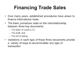 financing international trade ppt video online download