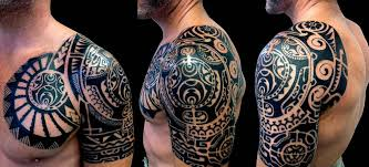 61 fantastic hawaiian shoulder tattoos
