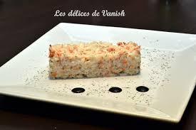saumon cuisine fut riz crémeux au saumon les délices de vanish