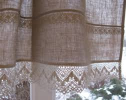 Designer Kitchen Curtains Kitchen Curtains Etsy