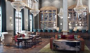 The new Death  amp  Co  bar in the Ramble Hotel in Denver  shown here in a rendering  Credit Avenue Interior Design
