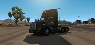 kenworth truck cab ups truck for day cab kenworth 680 ats euro truck simulator 2 mods