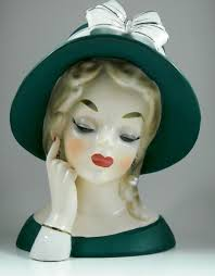 64 best my lady head vases images on pinterest vases christmas