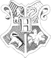 hogwarts crest coloring page 1000 images about harry potter