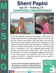 found alive ca sherri papini 34 redding 2 november 2016 1