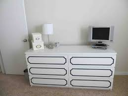 White Desk With Drawers Ikea Bedroom Inspiring Ikea Malm 6 Drawer Dresser For Home Furniture