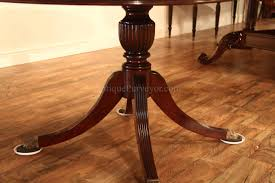 Round Dining Tables With Leaf 44 Round Mahogany Dining Table With Leaf Mahogany Drum Table